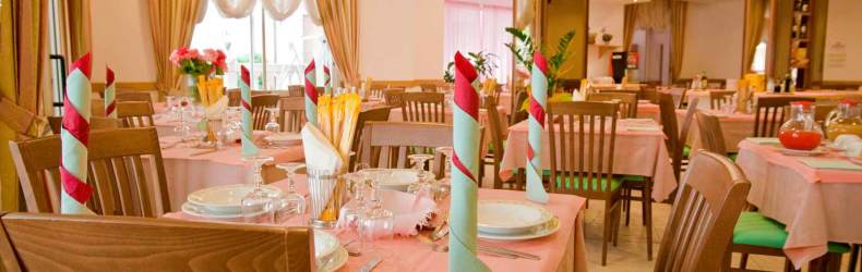 Sala ristorante Hotel Belvedere