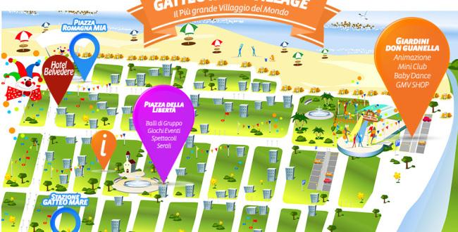 gatteo-mare-village-mappa