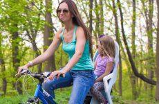 Biciclette dotate di Seggiolini